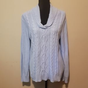 Baby Blue Thick Sweater